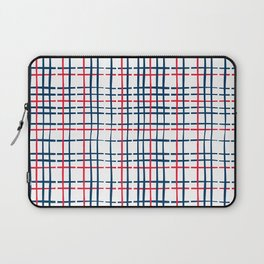 4th of July Skinny Gingham Laptop Sleeve