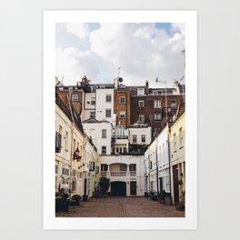 London - Kensington Mews Art Print