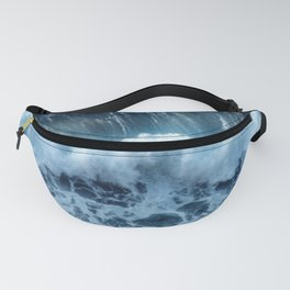 Sea Waves Fanny Pack