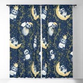 Sh, Sh, Panda Is Sleeping Blackout Curtain