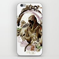 tarot iPhone & iPod Skins featuring Death Tarot by A Hymn To Humanity
