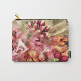Spoken Without Sound - Flower Art Carry-All Pouch