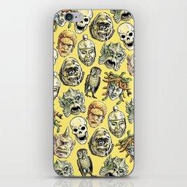 Epic Creatures (yellow) iPhone Skin
