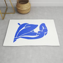 BLUE MATISSE CUT OUT Rug