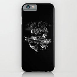 Area 51 Raid / Alien Lowrider iPhone Case