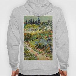Garden at Arles by Vincent van Gogh, 1888 Hoody