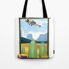 Desert and cactus Tote Bag