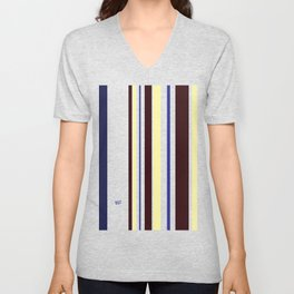 Kirovair Blocks Folklore #minimal #design #kirovair #decor #buyart Unisex V-Neck