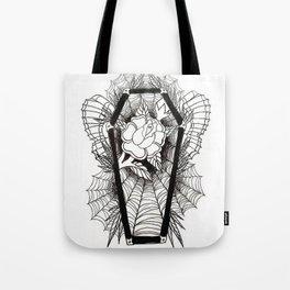 Graven Rose Tote Bag