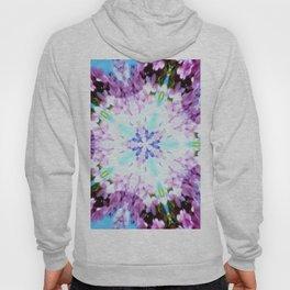 Purple Flower Power Series Hoody