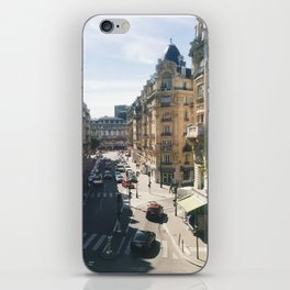 Looking Down on Paris, 12th Arrondissement iPhone Skin