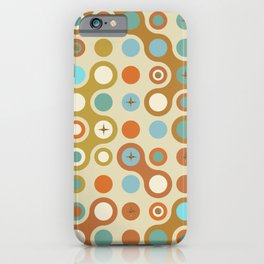 Retro pattern N1 iPhone Case