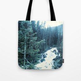 Mountan Stream Tote Bag