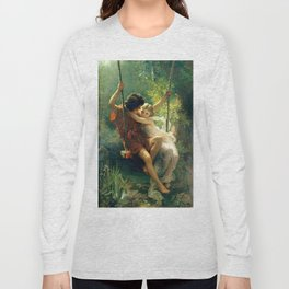 Spring by Pierre Auguste Cot Long Sleeve T-shirt