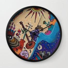 la Bolita Wall Clock