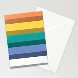 Accordion Fold Series Style B Stationery Cards