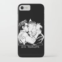 pacific rim iPhone & iPod Cases featuring Pacific Rim - Lets Tessellate by Kristal Babich