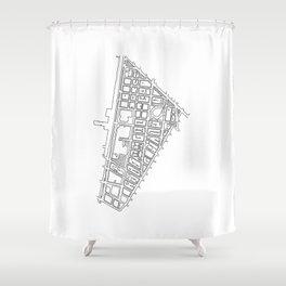 Tribeca, NY Shower Curtain