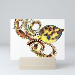 Blue Ringed Octopus Mini Art Print