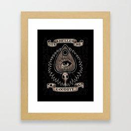 Planchette Framed Art Print