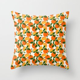 Oranges and Lemons Throw Pillow