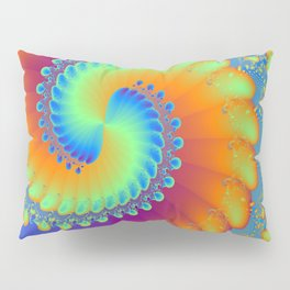 Color Wheel Pillow Sham