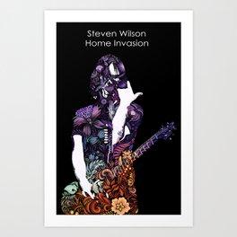 Steven Wilson Petrykivka pattern Art Print