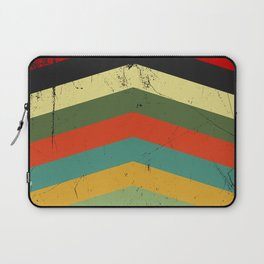 Grunge chevron Laptop Sleeve