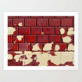 the wall Art Print