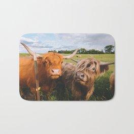 Highland Cows - Blep Bath Mat