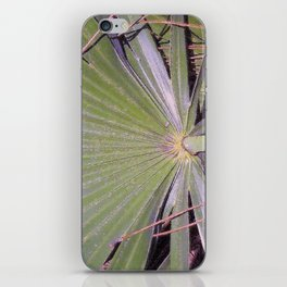Saw Palmetto Abstract iPhone Skin