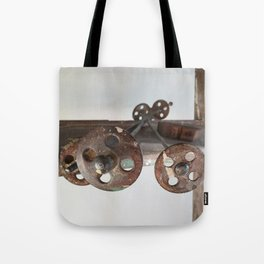 Rusty Rungs Tote Bag