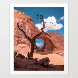 Monument Valley III, Ear of the Wind Art Print