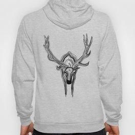 Elk Art Print Hoody