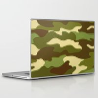 camo Laptop & iPad Skins featuring CAMO by Bruce Stanfield