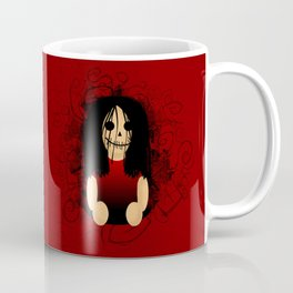 F E A R  H E R Red Coffee Mug