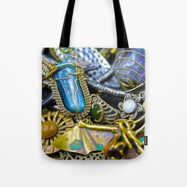 Jewelry Cluster 1 Tote Bag