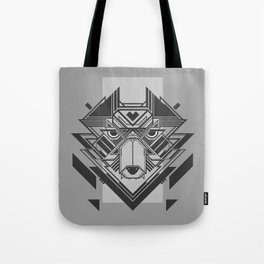 Cyber Wolf 2 Tote Bag