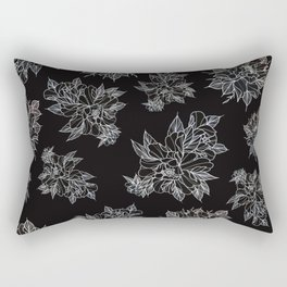 Peony Dreaming Rectangular Pillow
