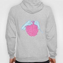 Knitting a brain Hoody