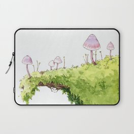 Mushrooms and Moss Laptop Sleeve