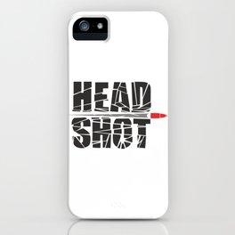 Headshot iPhone Case