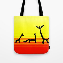 Les Animaux 3 Tote Bag