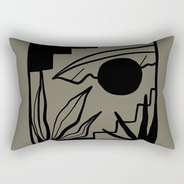 BAJA KHAKI Rectangular Pillow