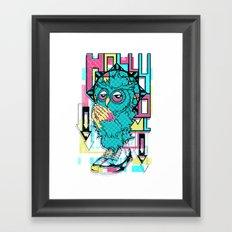 Owl Prayer Framed Art Print
