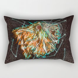 Space lion  Rectangular Pillow