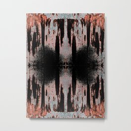 Breath Metal Print