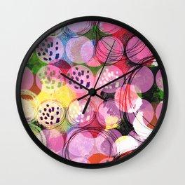 Energy cir Wall Clock