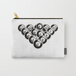 Billiard Pool Balls 8 Ball Gift Carry-All Pouch