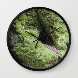 Moss Forest Wall Clock